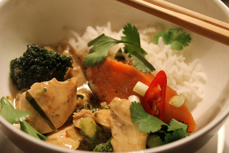 Thai Curry mit Huhn
