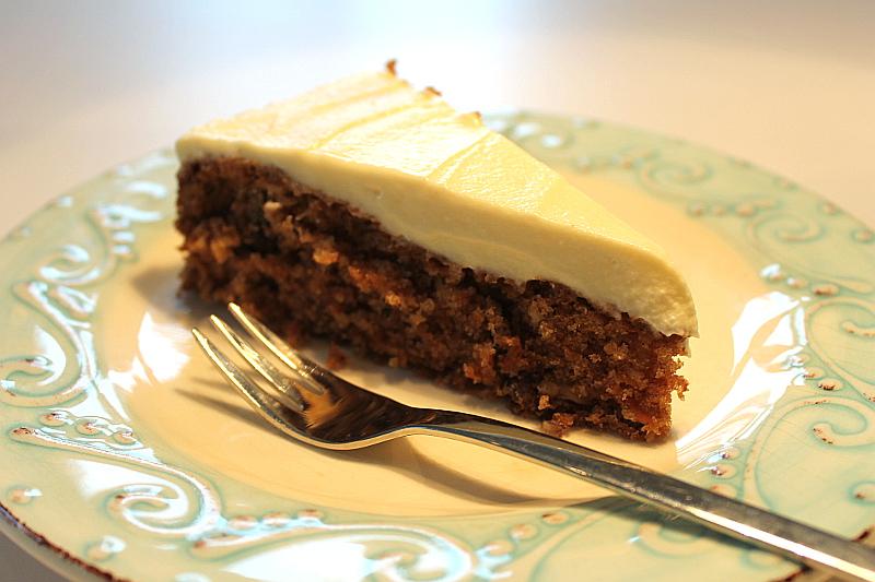 Carrot-Cake mit Frsichkäsecreme
